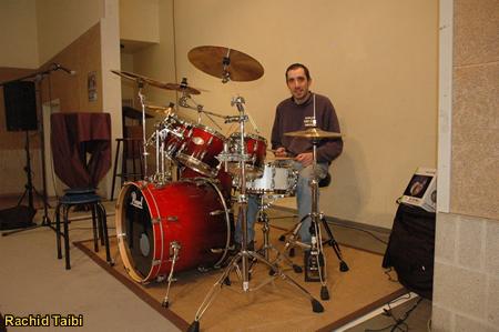 Eerste live drumoptreden - 15-jarig bestaan Salaam Mechelen