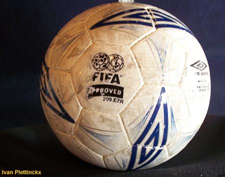 Wedstrijdbal Flanders Soccer Cup 2005