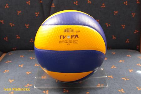 Wedstrijdbal + opslag Topvolley Precura Antwerpen - VC Vosselaar
