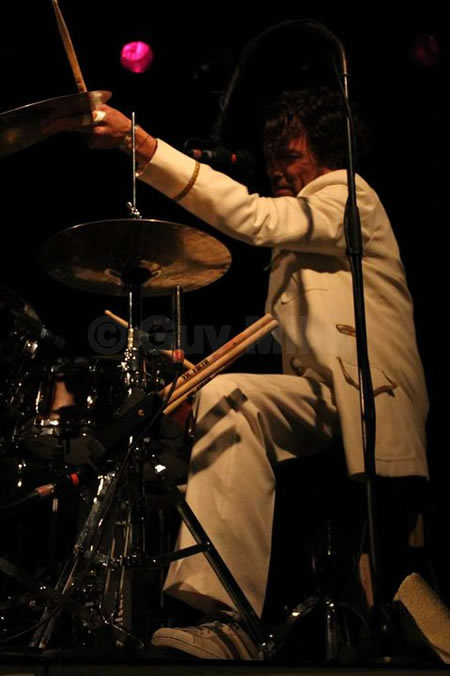 Gebruikte drumsticks Alain Bokken - The Magical Flying Thunderbirds