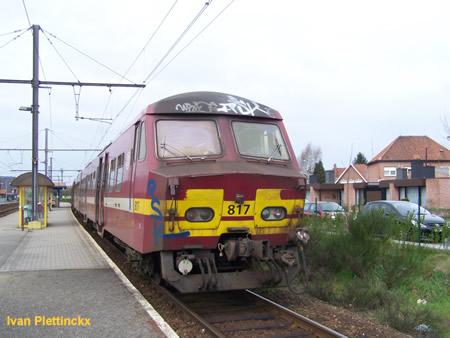 De trein waarmee ik heb meegereden