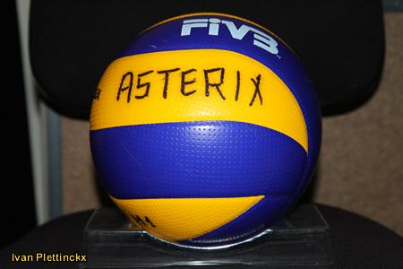 Wedstrijdbal Asterix Kieldrecht - seizoen 2010-2011