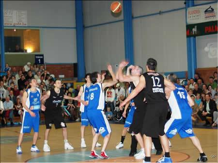 Foto wedstrijd Boom BC - CEP Fleurus