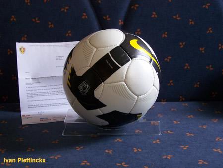Wedstrijdbal BvB 2008 - AA Gent - RSC Anderlecht
