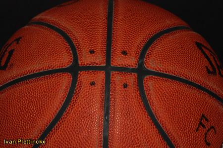 Wedstrijdbal finale Beker van België Basketbal - Spirou Charleroi - Base Oostende