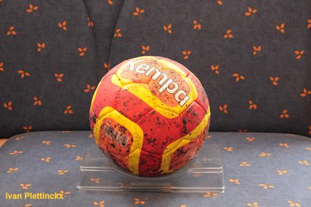 Wedstrijdbal + opworp finale Beker van België handbal