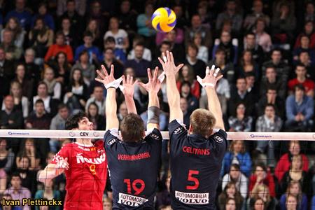 Wedstrijdbal finale Beker van België volleybal - Noliko Maaseik - Knack Randstad Roeselare