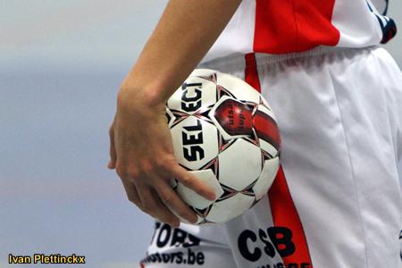 Wedstrijdbal CKB Puurs - seizoen 2010-2011