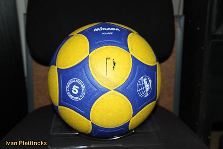 Wedstrijdbal European Championship 2010 Korfball