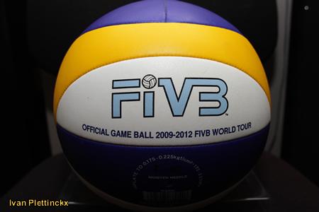 Wedstrijdbal finale Swatch FIVB World Tour - Den Haag