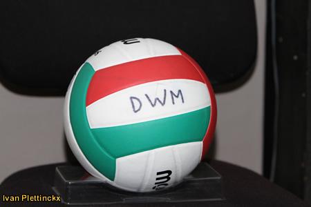 Wedstrijdbal Flanders Volley Gala - editie 2009