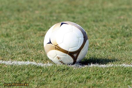 Wedstrijdbal KFC Duffel - KVC Willebroek-Meerhof
