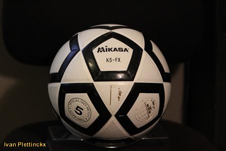 Opworp + wedstrijdbal kruisfinales korfbal 2009-2010
