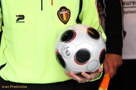 Wedstrijdbal KSK Opwijk - KVC Willebroek-Meerhof