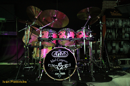 Gebruikte drumsticks Mel Gaynor (Simple Minds)