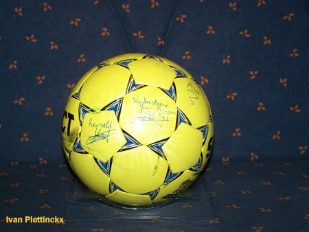 Wedstrijdbal Mini Muco Foot 2008