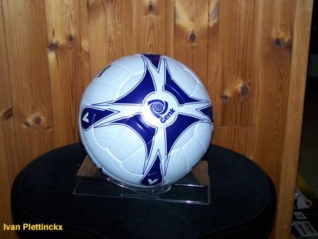 Wedstrijdbal Mitre KRC Genk seizoen 2007-2008