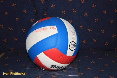 Wedstrijdbal Noliko Maaseik seizoen 2008-2009