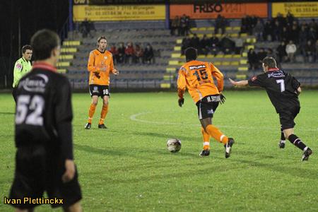 Wedstrijdbal oefenwedstrijd Royal Antwerp FC - KVC Willebroek-Meerhof