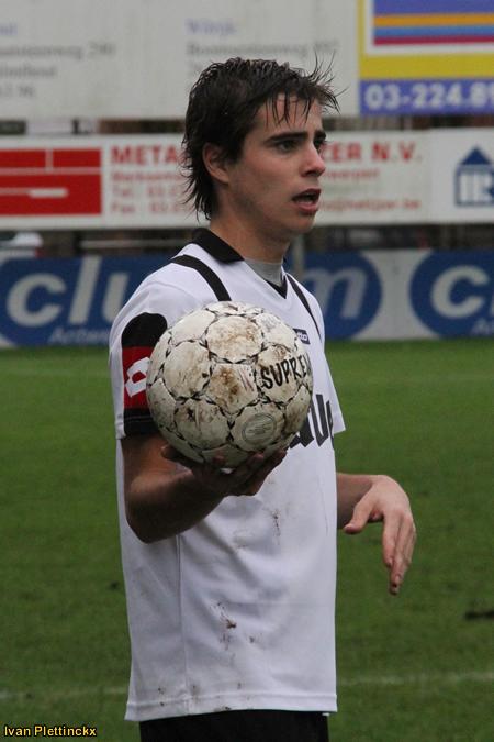 Wedstrijdbal R Capellen FC - KVC Willebroek-Meerhof