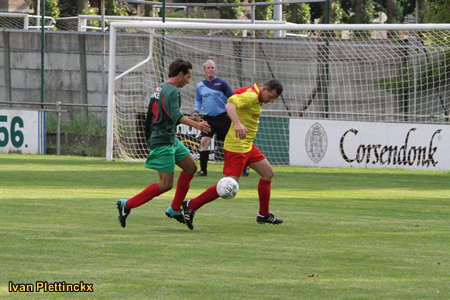 Aftrap + wedstrijdbal RVC Hoboken - FC Olympic Essen