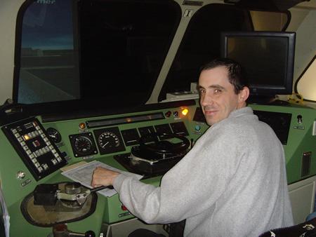 Treinsimulator Mechelen