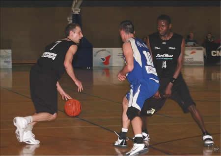 Foto wedstrijd Sint-Jan Basket Antwerpen - CEP Fleurus