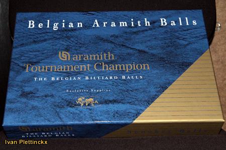 Wedstrijdballen Belgian Aramith Balls - Aramith Tournament Champion (snooker)