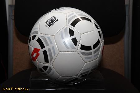 Gebruikte wedstrijdbal STVV - Zulte-Waregem