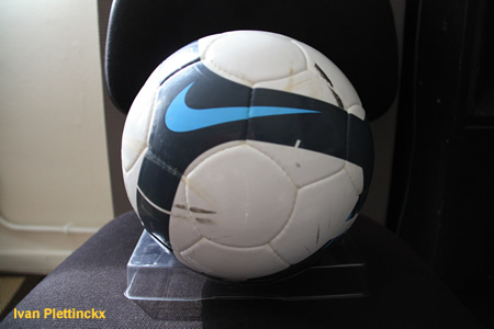 Wedstrijdbal + aftrap KSKL Ternat - KVC Willebroek-Meerhof