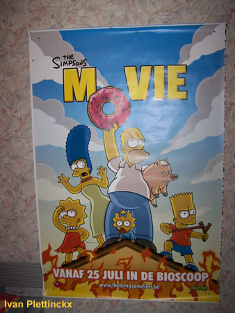 Affiche The Simpsons Movie