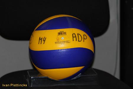 5 wedstrijdballen VC Argex Duvel Puurs seizoen 2009-2010
