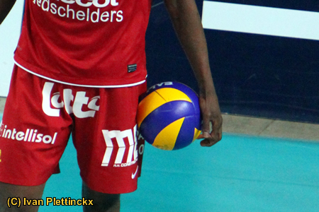 Wedstrijdbal Beker van België volleybal 2011-2012