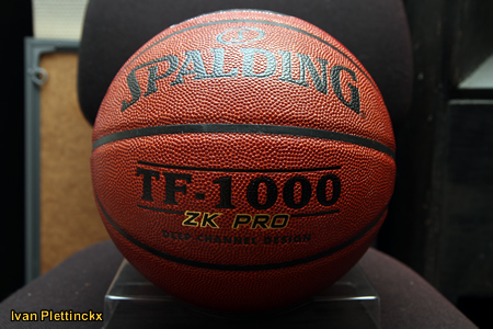 Wedstrijdbal Spalding TF-1000 Ethias League