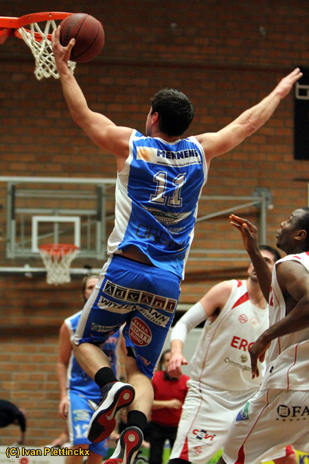 Opworp + wedstrijdbal Kangoeroes Boom - Gent Dragons