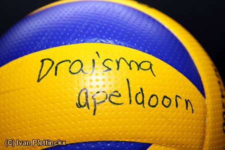 Wedstrijdbal Draisma Dynamo Volleybal Apeldoorn
