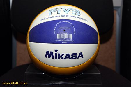 Wedstrijdbal Beker van België Beach Volley 2011