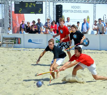 Wedstrijdbal BMW Beach Hockey Eurocup 2011
