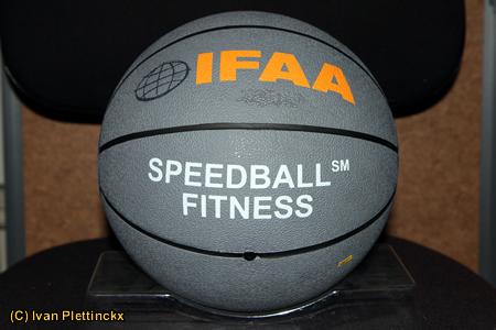 Speedball Fitness officiële bal