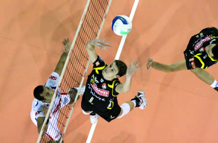 Wedstrijdbal Superliga Brasileira de Voleibol