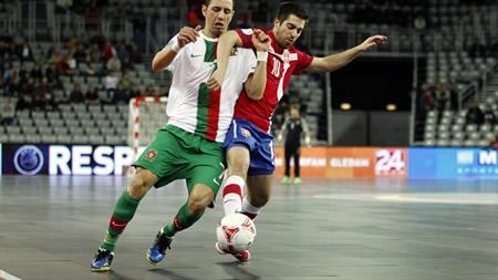 Wedstrijdbal UEFA Futsal Euro Croatia 2012
