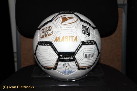 Diverse wedstrijdballen zaalvoetbal (Belgische Zaalvoetbalbond)